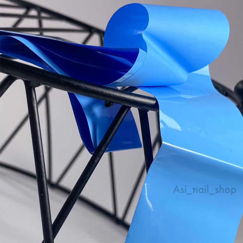 foil-blue